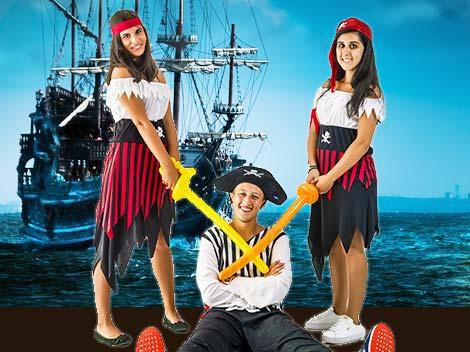 Festa bambini pirati dei caraibi
