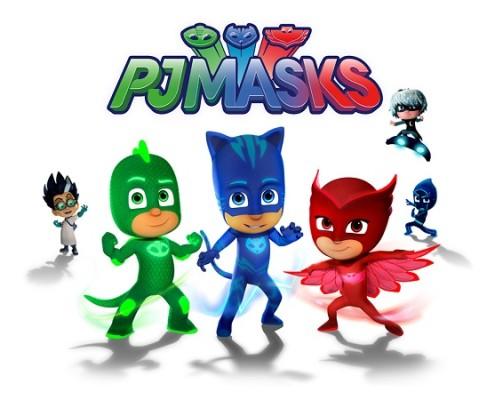 compleanno super pigiamini festa bambini tema animazione supereroi