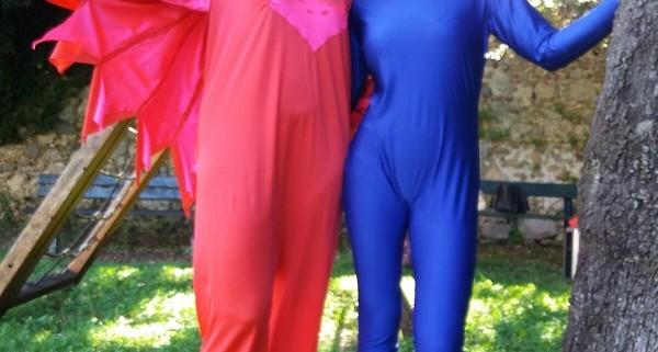 Costume gufetta dei pj masks super pigiamini bambini rosso