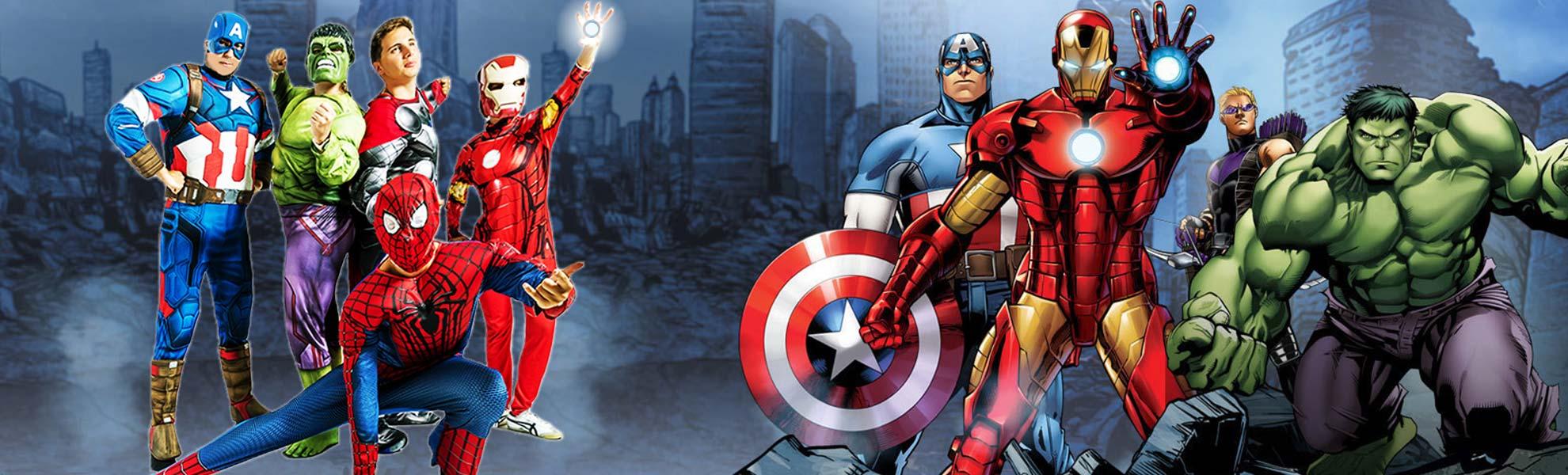 Festa compleanno Avengers
