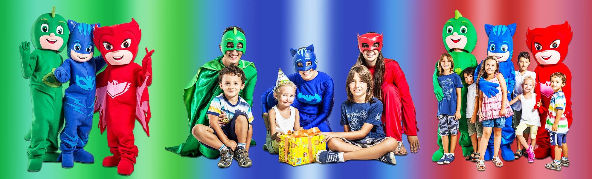 Festa compleanno PJ-Mask Super pigiamini